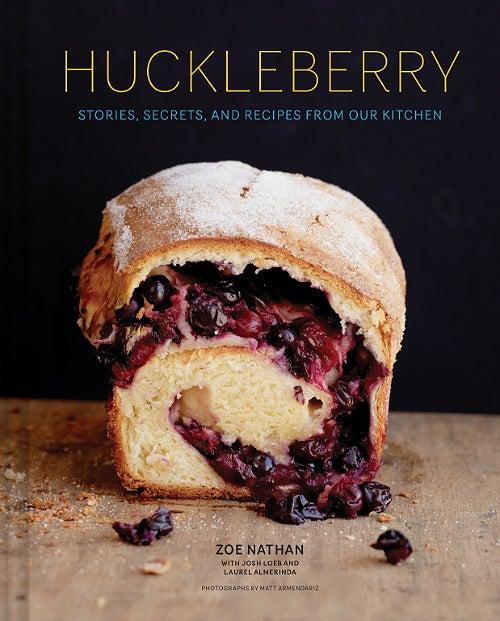 Huckleberry cookbook cover