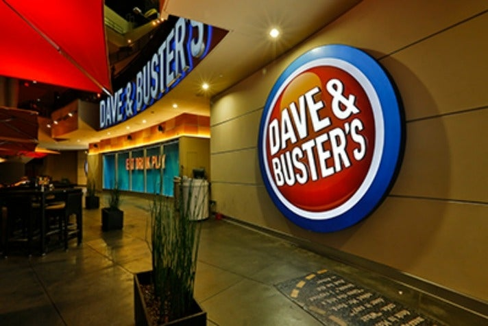 Dave and Buster's Hollywood