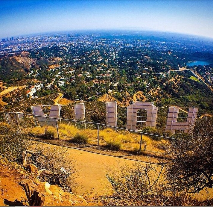 Hollyridge Trail to Hollywood Sign