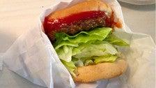 Hickory Burger at The Apple Pan