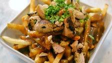 Chicken tikka poutine at Badmaash