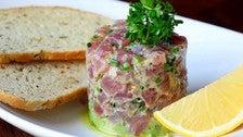 Tuna tartare at Chaya